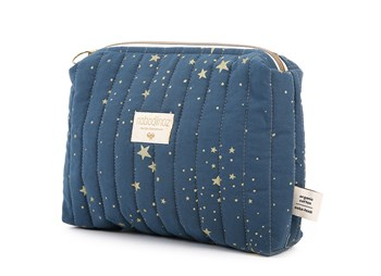Travel Mini Bag Gold Stella/Night Blue