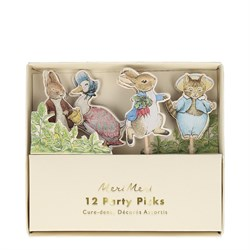 Peter Rabbit - Friends Parti Çubukları (12li)