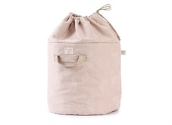 Bamboo Oyuncak Sepeti White Bubble/Misty Pink Mini Boy