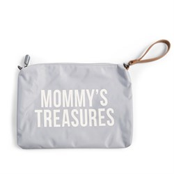 Mommy Treasures Gri Clutch