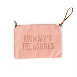 Mommy Treasures Pembe Clutch