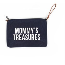 Mommy Treasures Lacivert Clutch