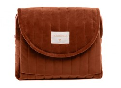 Nobodinoz Savanna Kadife Mini Bag Wild Brown Anne Çantası