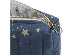 Nobodinoz Travel Mini Bag Gold Stella/Night Blue Anne Çantası